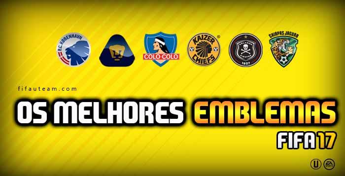 Melhores Emblemas para usar em FIFA 17 Ultimate Team