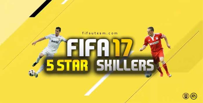 Skillers de FIFA 17 - Jogadores 5 Star Skill em FIFA 17 Ultimate Team