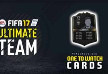 Guia das Cartas Híbridas de FIFA 17 Ultimate Team (Ones to Watch)
