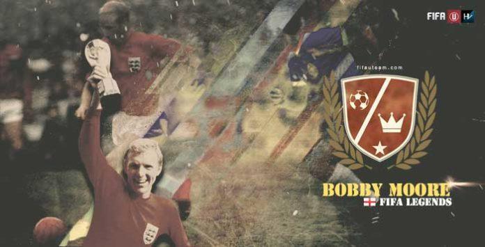 """Lendas de FIFA: Bobby Moore, """"O Gentleman da Bola"""""""