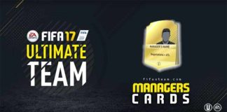 Guia de Cartas de Managers para FIFA 17 Ultimate Team