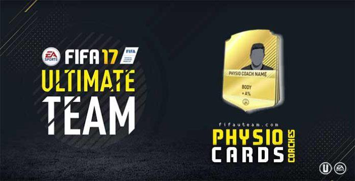 Guia de Cartas de Fisioterapeutas para FIFA 17 Ultimate Team