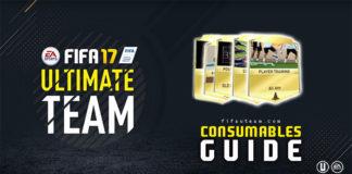 Guia de Cartas de Consumíveis para FIFA 17 Ultimate Team