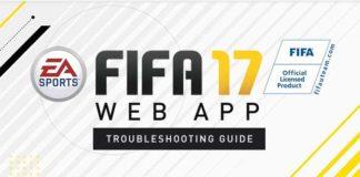 Problemas Mais Frequentes da FUT 17 Web App
