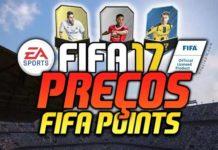 Preços dos FIFA Points e dos Pacotes em FIFA 17 Ultimate Team