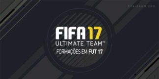 Guia de Formações para FIFA 17 Ultimate Team