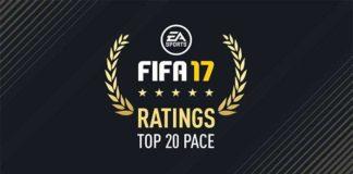 Jogadores Mais Rápidos de FIFA 17 Ultimate Team