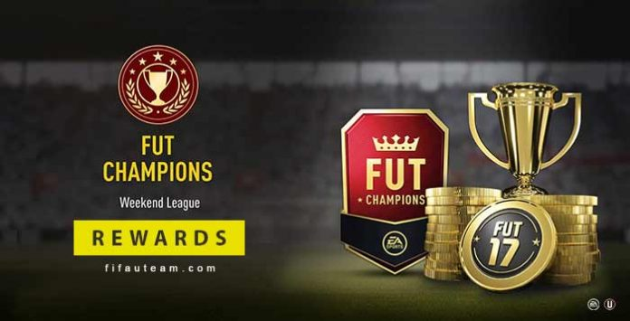 Prémios do modo FUT Champions para FIFA 17 Ultimate Team