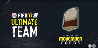 Guia das Cartas Movember para FIFA 17 Ultimate Team