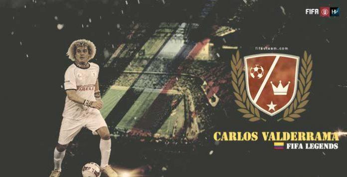 Lendas de FIFA: Carlos Valderrama