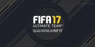 Guia do Rating da Equipa para FIFA 17 Ultimate Team