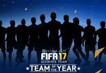 TOTY de FIFA 17 - Os Melhores Jogadores de 2016