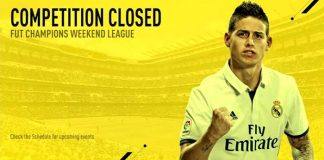 Ronda 16 da Weekend League de FIFA 17 foi Cancelada