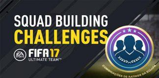 Combinações de Ratings para Desafio de Montagem de Elencos em FIFA 17