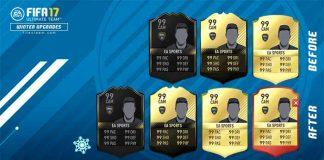 Como Funcionam os Upgrades de Inverno em FIFA 17 Ultimate Team?