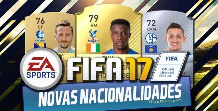 Lista de Jogadores que Mudaram de Nacionalidade em FIFA 17
