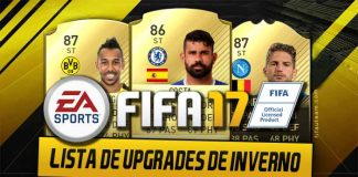 Lista dos Upgrades de Inverno de FIFA 17 Ultimate Team