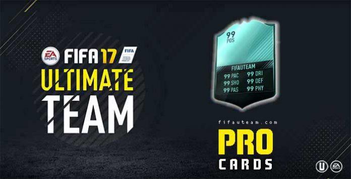 Lista de Cartas de Jogadores Profissionais em FIFA 17