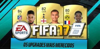 Os Upgrades Mais Merecidos de FIFA 17 Ultimate Team
