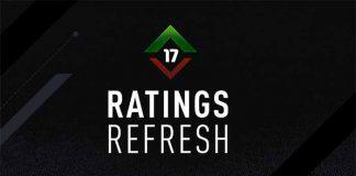 Renovação de Notas de FIFA 17 - Upgrades e Downgrades de Inverno