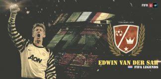 """Lendas de FIFA: Edwin van der Sar, """"Edwin"""""""
