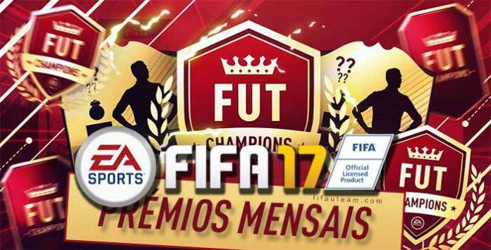 Datas dos Prémios Mensais do FUT Champions FIFA 17