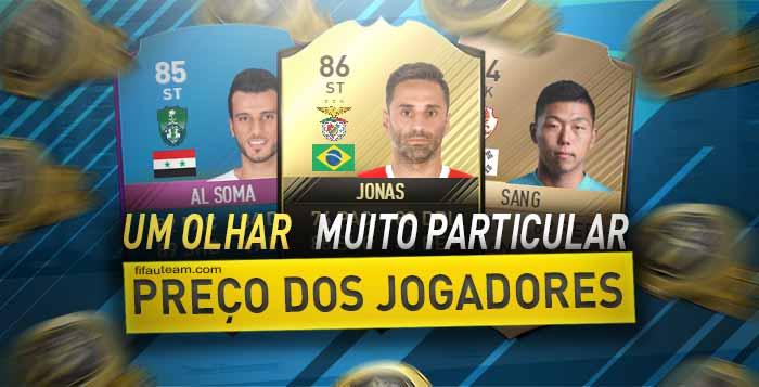 Preço dos Jogadores de FIFA - Um Olhar Muito Particular