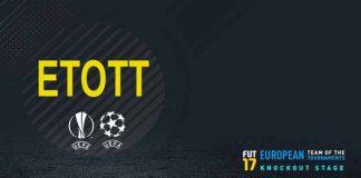 ETOTT de FIFA 17 - A Equipa dos Torneios Europeus