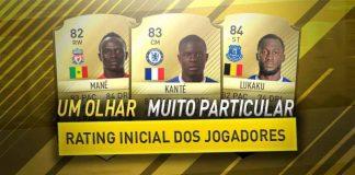 Rating Inicial dos Jogadores de FIFA - Um Olhar Muito Particular