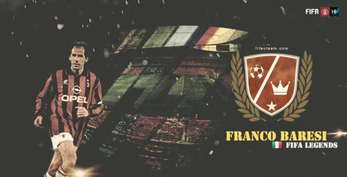 """Lendas de FIFA: Franco Baresi, """"Piscinin"""""""