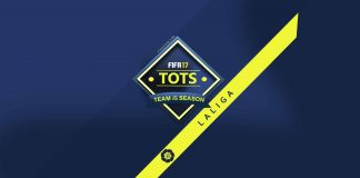 TOTS da LaLiga Santander para FIFA 17 Ultimate Team