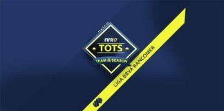 TOTS da Liga BBVA Bancomer para FIFA 17 Ultimate Team