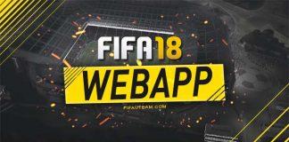 FUT Web App para FIFA 18 - Data, Acesso e Outros Detalhes