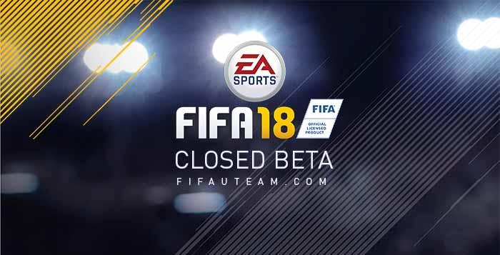 Beta Fechada de FIFA 18