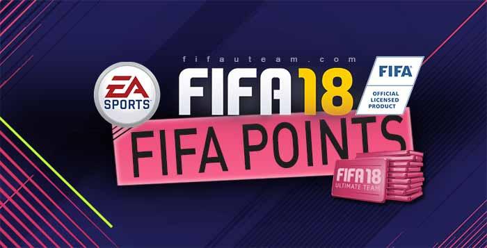 Guia de FIFA Points para FIFA 18 Ultimate Team