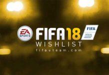 Lista de Desejos para FIFA 18