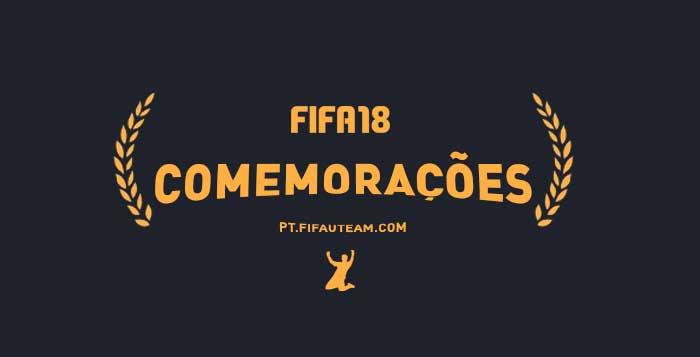 Guia de Celebrações de FIFA 18 para Playstation e XBox