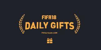 Guia de Daily Gifts para FIFA 18 Ultimate Team