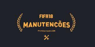Lista Completa das Manutenções de FIFA 18