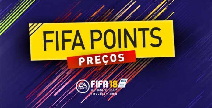 Preços dos FIFA Points e dos Pacotes em FIFA 18