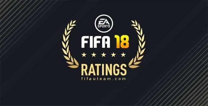 Ratings de FIFA 18 - Os Melhores Jogadores de FUT 18