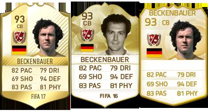 Lendas de FIFA: Franz Beckenbauer