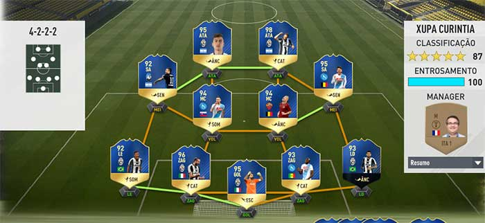 As Melhores Equipas de FIFA 17 Ultimate Team