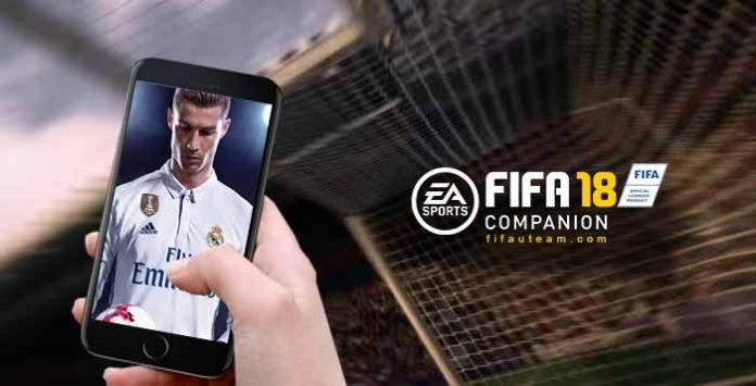 Companion App de FIFA 18 para iOS, Android e Windows Phone