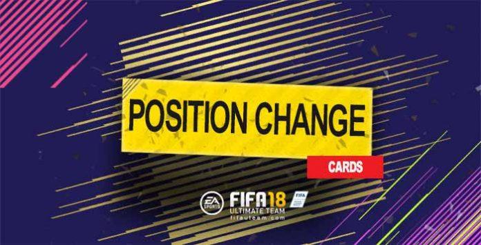 Guia de Cartas de Mudança de Posição para FIFA 18