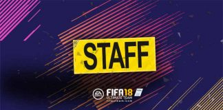 Guia de Cartas de Staff para FIFA 18 Ultimate Team