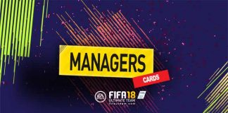 Guia de Cartas de Managers para FIFA 18 Ultimate Team