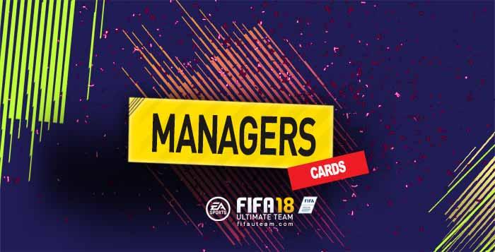 Guia de Cartas de Managers para FIFA 18 Ultimate Team