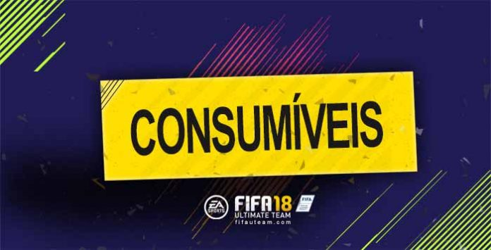 Guia de Cartas de Consumíveis para FIFA 18 Ultimate Team