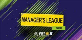 Guia de Cartas de Ligas de Manager para FIFA 18